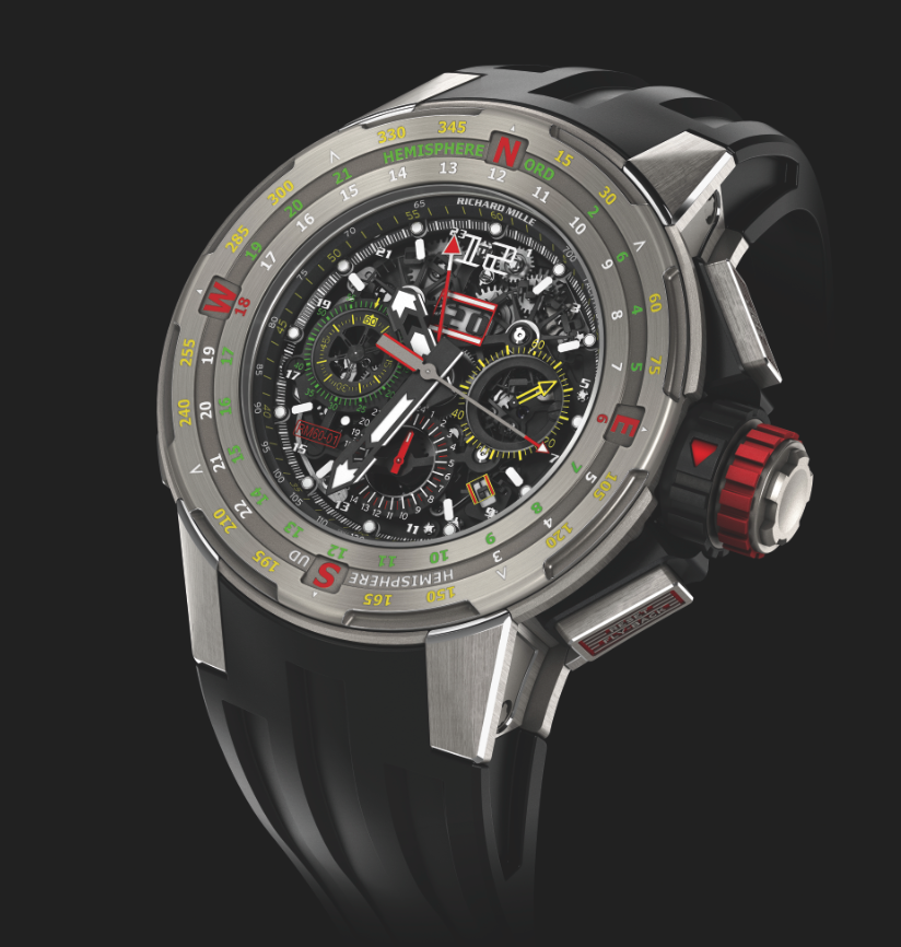 Richard Mille RM 61-01 Flyback Chronograph Regatta. Sticker Price $155,000 USD.