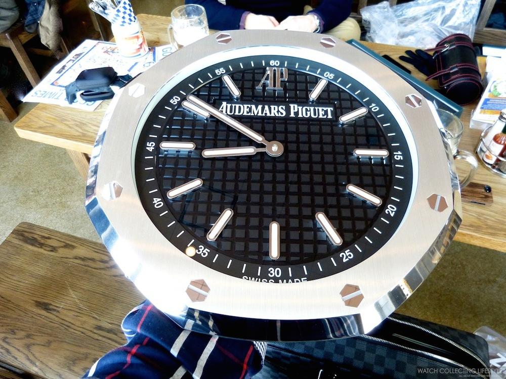 Watch Goodies Audemars Piguet Royal Oak Wall Clock Unboxing An