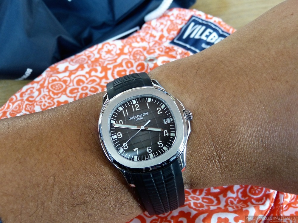 Patek Philippe Aquanaut Ref 5167 Perfectly Suited For