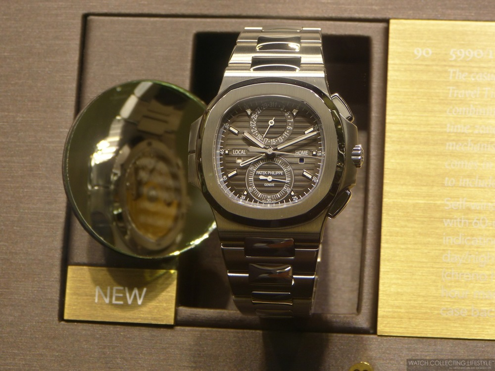 Patek Philippe Nautilus ref. 5990/1A in Stainless Steel.