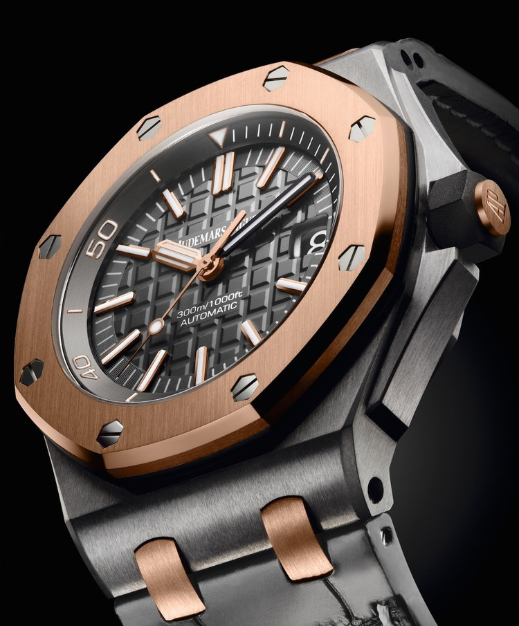 f621d217799 Audemars Piguet Presents the QEII Cup 2014 Royal Oak Offshore Diver Limited  Edition ref. 15709TR.OO.A005CR.01
