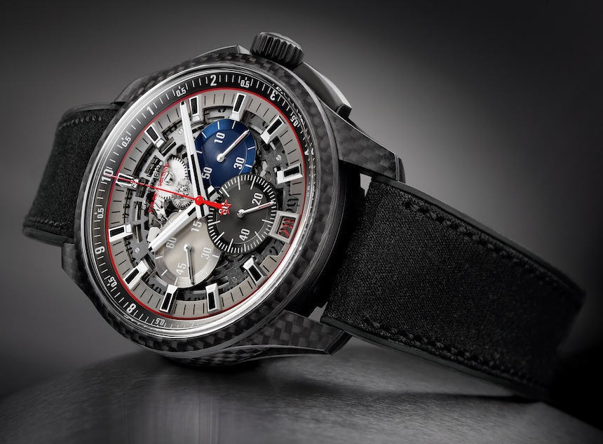 Zenith El Primero Lightweight Striking 10th. Limited Edition to 100 Pieces.