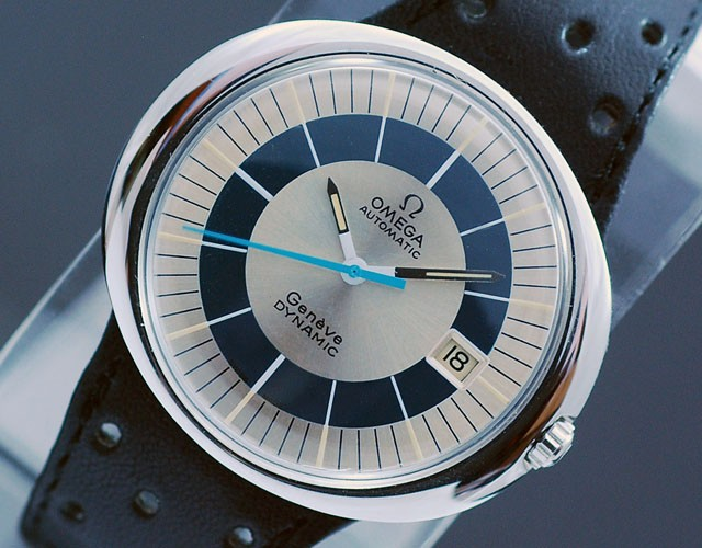 Omega Dynamic Circa 1969 on Interchangeable Strap. Image: ebay.co.uk