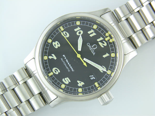 Omega Dynamic Date circa 1999. Image: TheOldWatchShop.com
