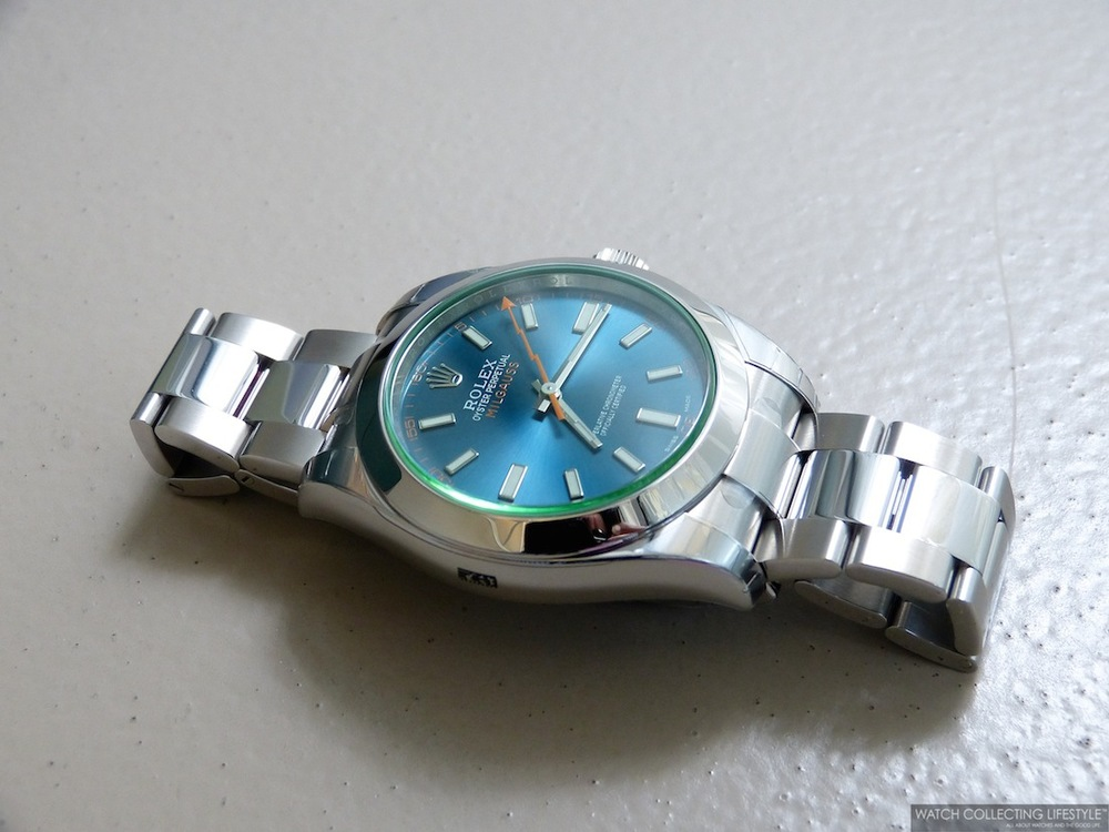 Blue Milgauss Rolex