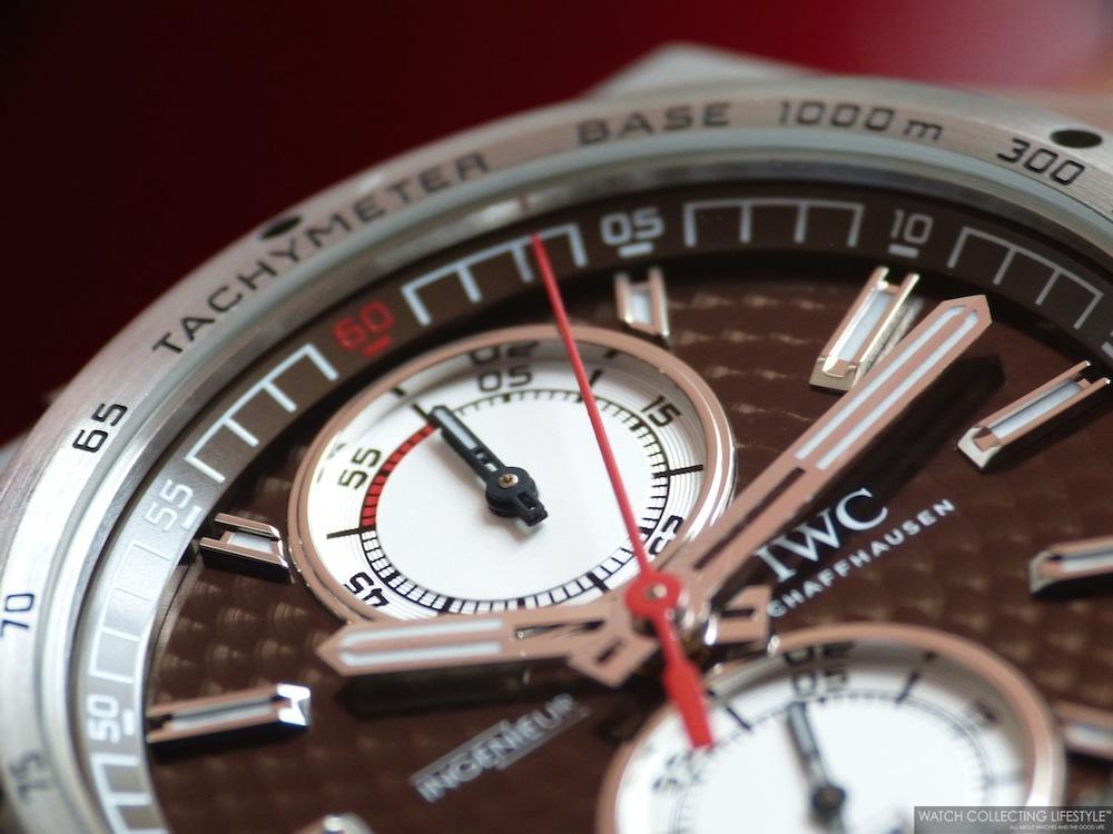 IWC Ingenieur Chronograph Silberpfeil ref. IW378511