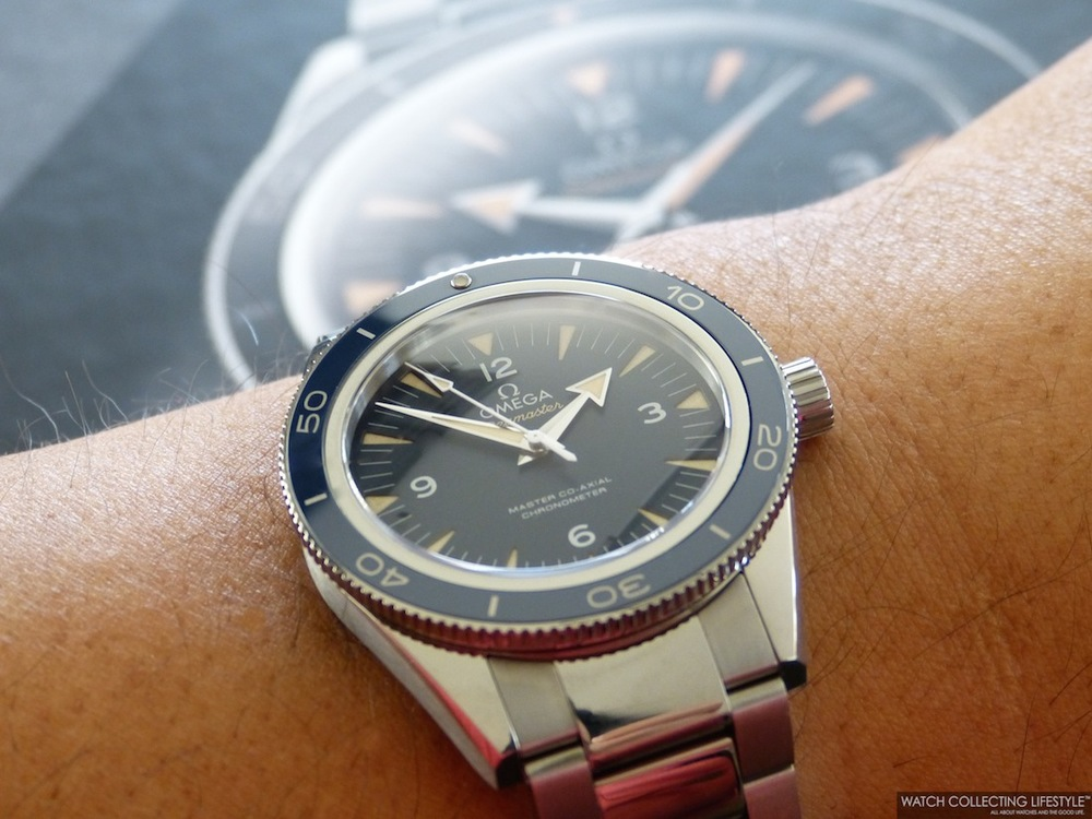 Omega Seamaster 300 Master Co-Axial watch replica