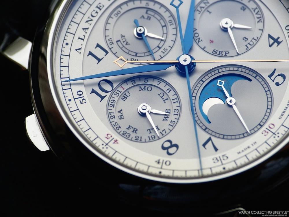 A. Lange & Söhne 1815 Rattrapante Perpetual Calendar ref. 421.025 copy watch