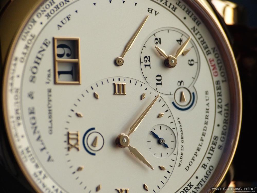 A. Lange & Söhne Lange 1 Time Zone ref. 116.032