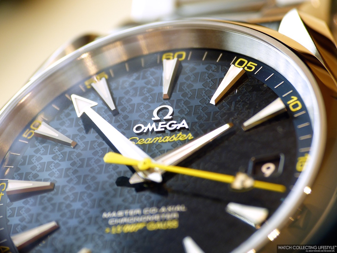 133aaf96e77 Baselworld 2015  Introducing the Omega Seamaster Aqua Terra 150M  James Bond   Spectre Limited Edition. Live Pictures and Pricing. — WATCH COLLECTING ...