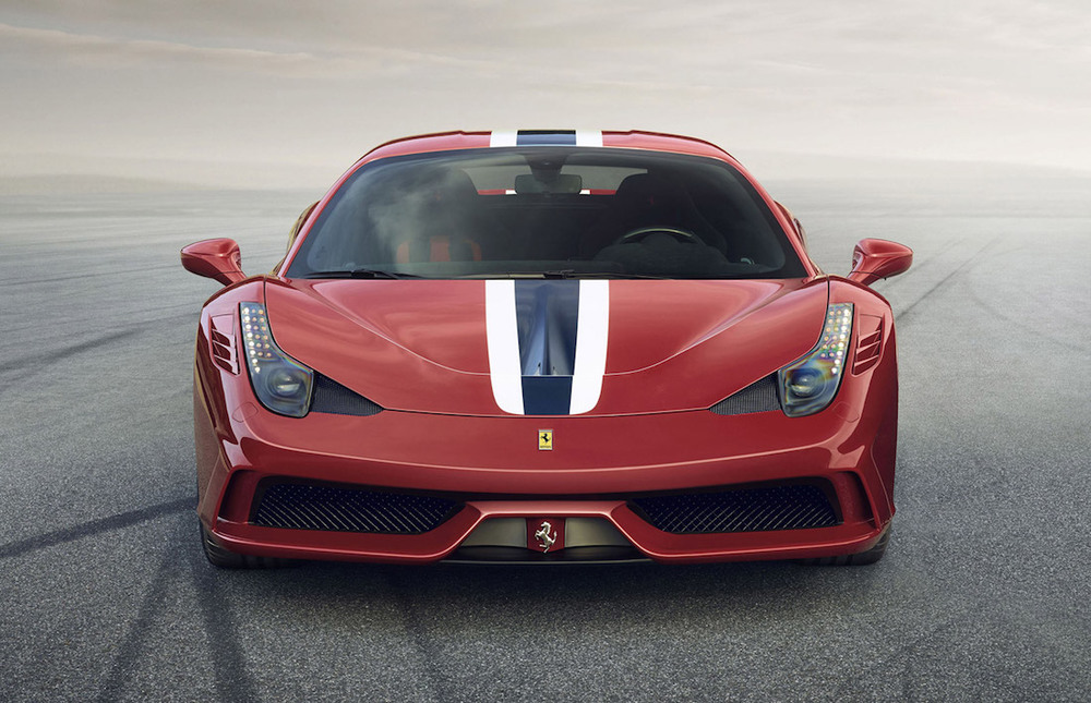 The Ferrari Speciale 458. Photo from MotorAuthority.com