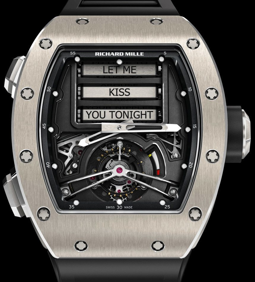 News Introducing The Richard Mille Rm 69 Erotic