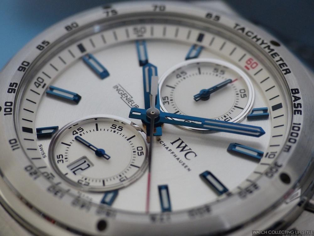 IWC Ingenieur Chrono Racer ref. IW378509 watch replica