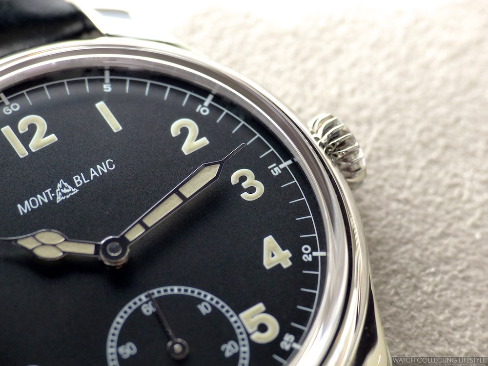 db85790ed4c Insider: Montblanc 1858 Manual Small Second. Three Different Models Plus  One Limited Edition Piece All Under $4K USD.