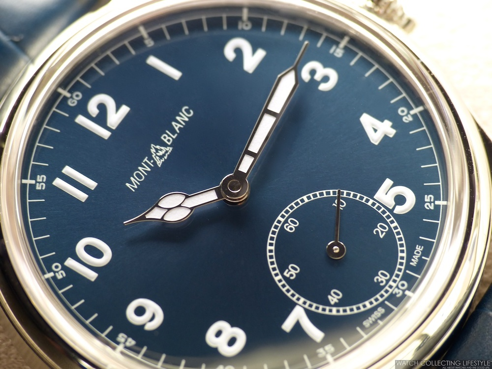 Insider: Montblanc 1858 Manual Small Second. Three ...