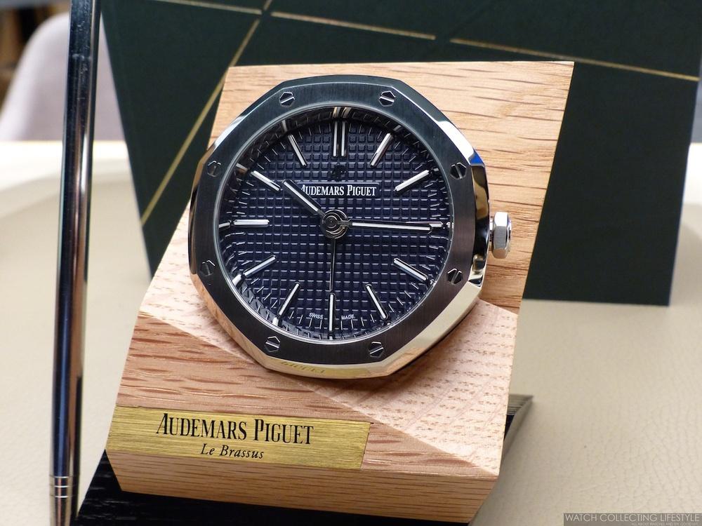 Watch Goodies Audemars Piguet Royal Oak Alarm Desk Clock
