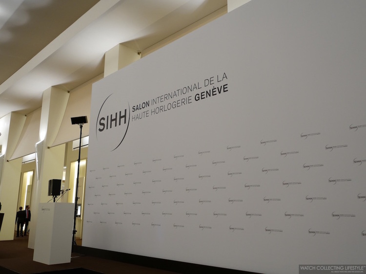 SIHH 2016: The Salon International de la Haute Horlogerie Genève ...