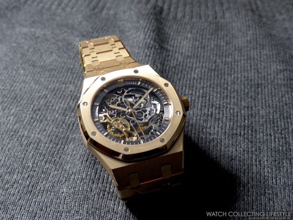 1c460fca3e The new Audemars Piguet Royal Oak Double Balance Wheel Openworked is  powered by the automatic AP calibre 3132 composed of 245 parts, 38 jewels  and which ...