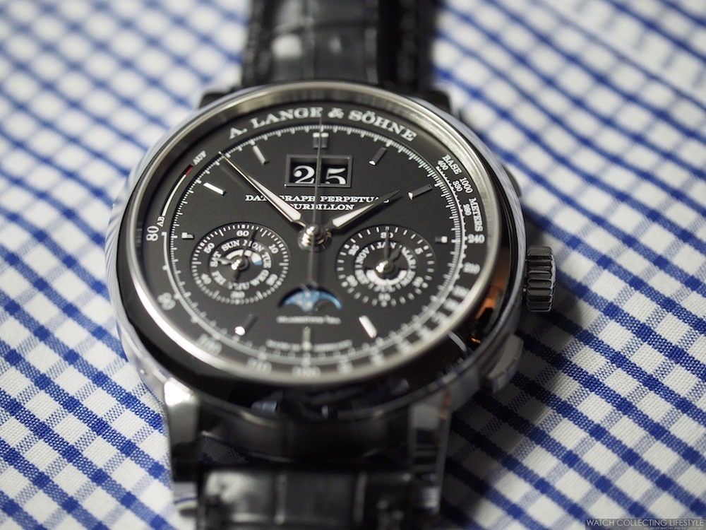 A. Lange & Söhne Datograph Perpetual Tourbillon watch replica