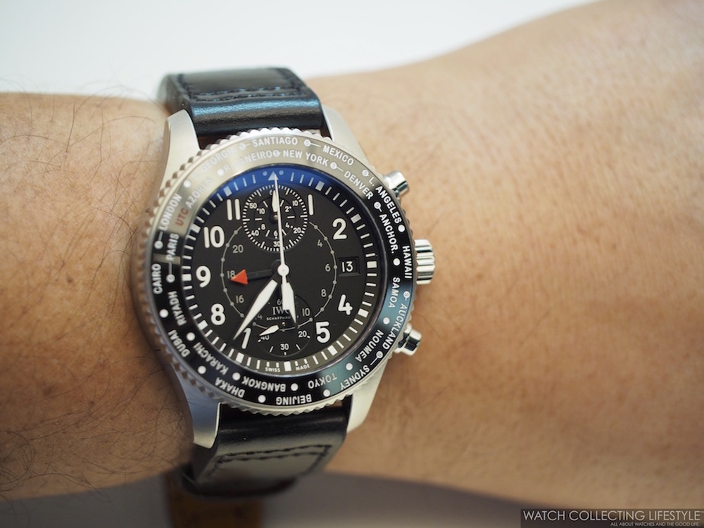 IWC Pilot's Watch Timezoner Chronograph ref. IW395001 watch replica