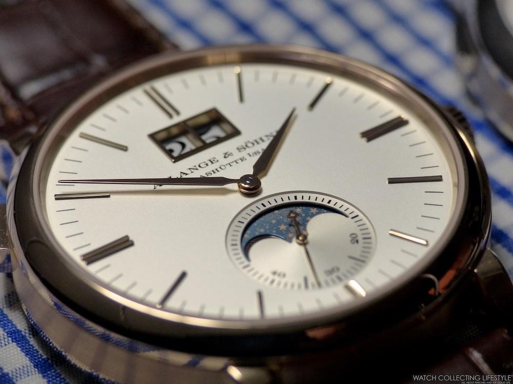 A. Lange & Söhne Saxonia Moon Phase watch replica