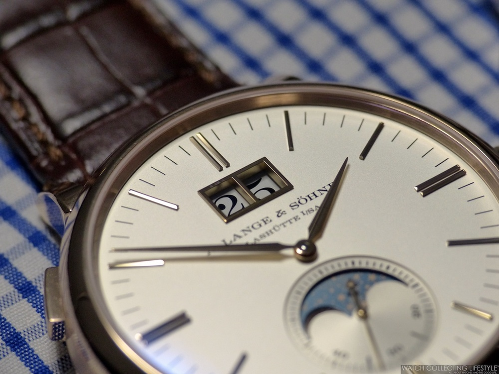 A. Lange & Söhne Saxonia Moon Phase copy watch