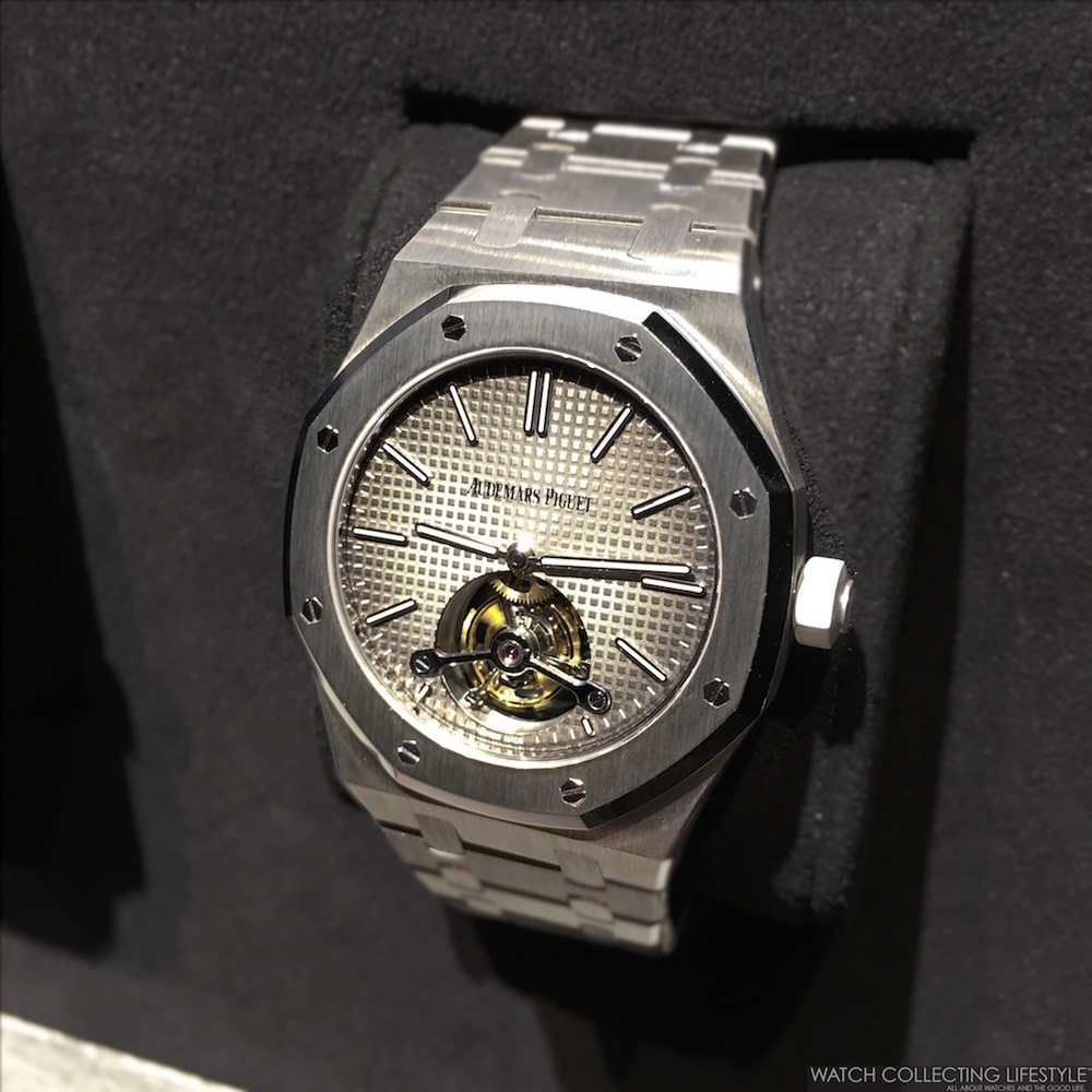 0ceaba94789 The Audemars Piguet Royal Oak Extra-Thin Tourbillon ref. 26510 was first  presented in 2012 to commemorate the 40th anniversary of the Royal Oak.