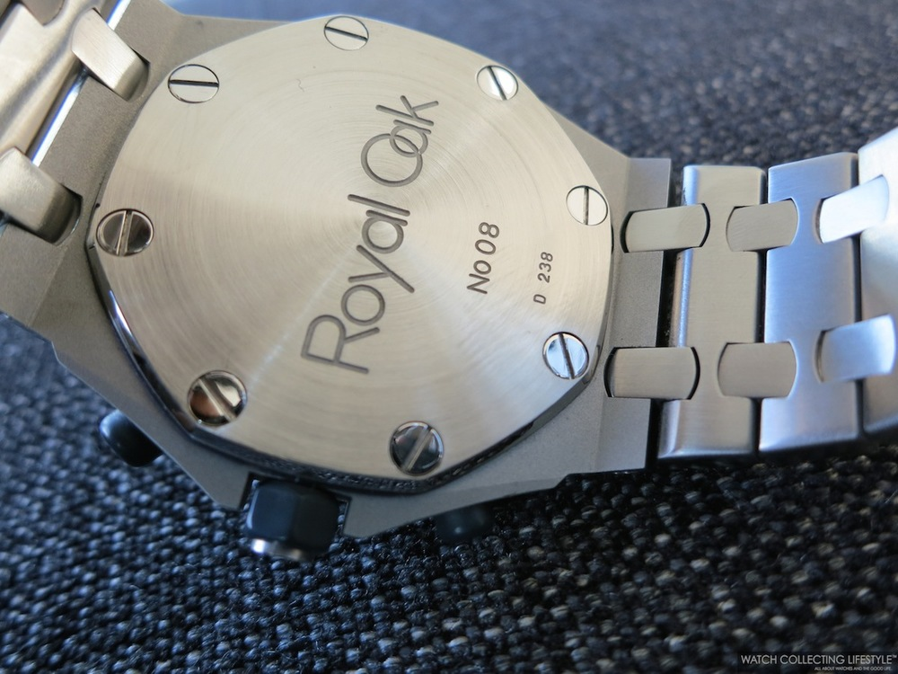royal oak audemars serial number