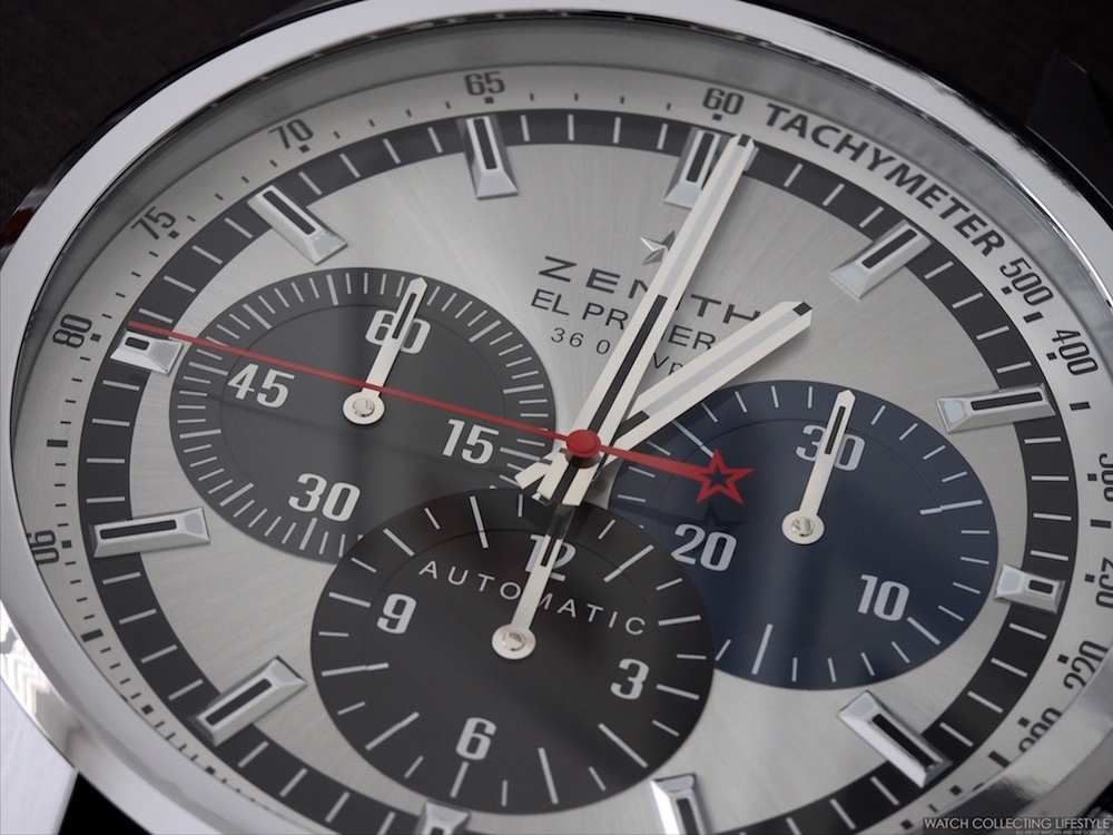 Watch Goodies Zenith El Primero 1969 Chronograph Wall Clock One Of