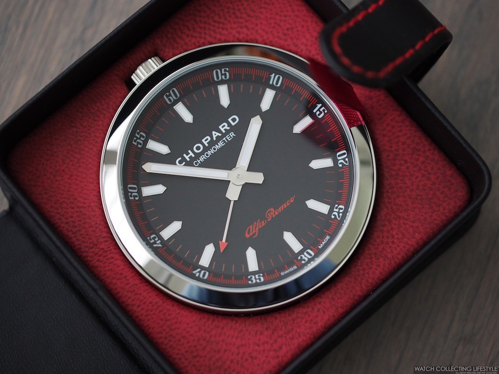 Watch Goodies Chopard For Alfa Romeo Alarm Clock A Perfect Travel To Wake Up In Style