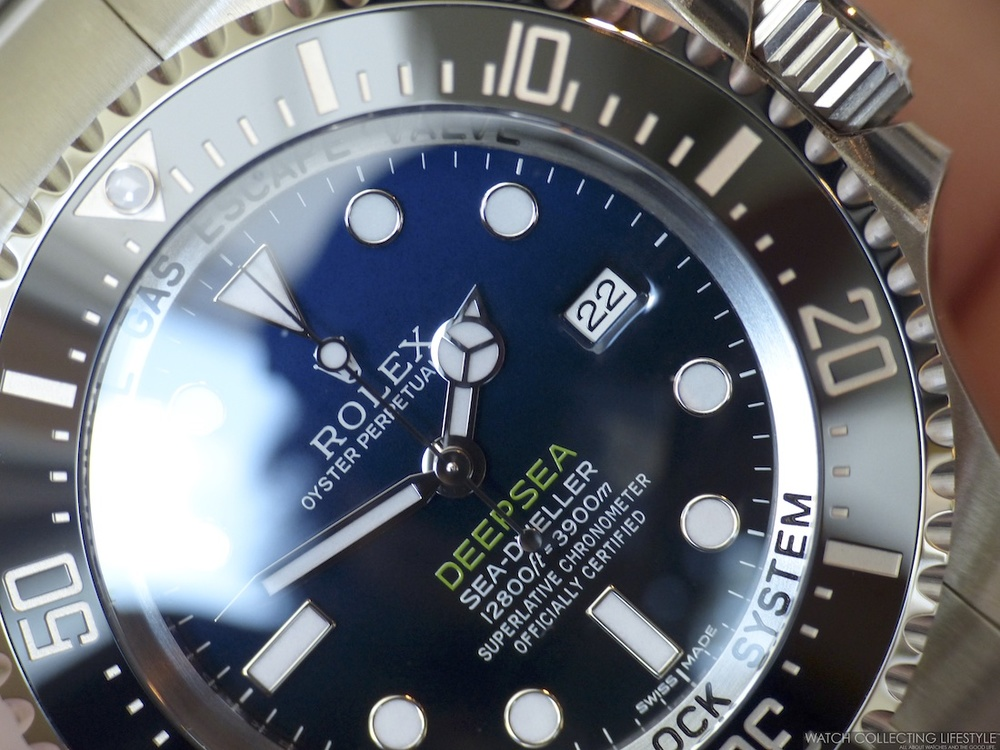 First Generation Rolex Deepsea D-Blue Dial ref. 116660 a.k.a James Cameron