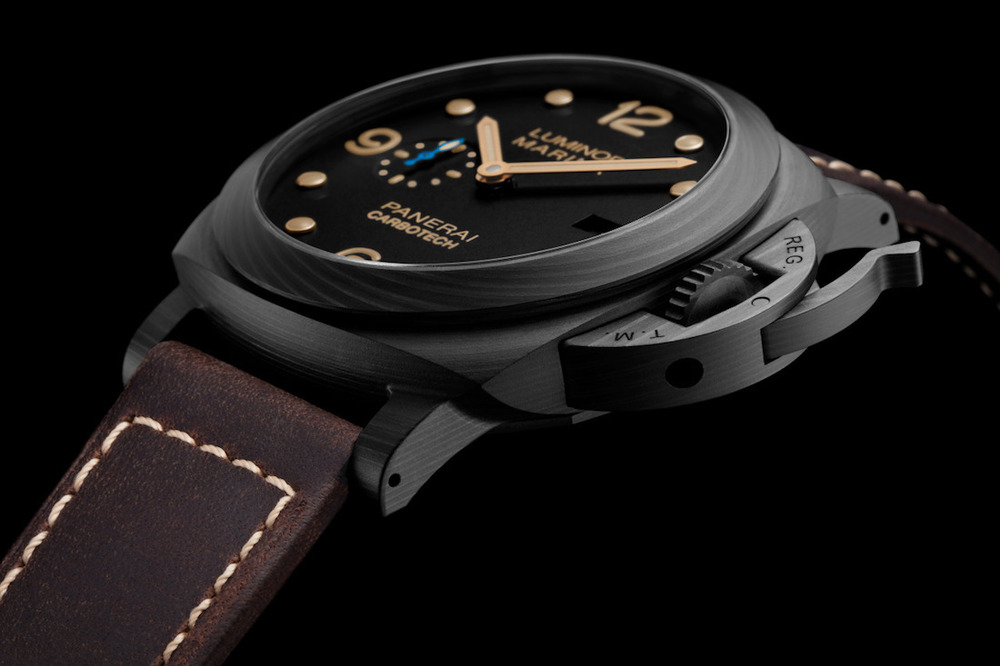 Panerai Luminor Marina 1950 Carbotech 3-Days Automatic PAM 661. Sticker Price $11,800 USD.