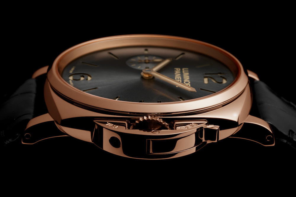 New Officine Panerai Luminor Due 3-Days PAM 677. Sticker Price $22,100 USD.