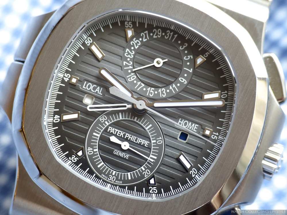 2094220eb7d7c Insider: Patek Philippe Nautilus Travel Time Chronograph ref. 5990/1A.  Hands-on with the Perfect Travel Companion.