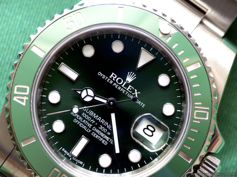 rolex submariner hulk ref 116610lv our favorite sub at the moment watch collecting lifestyle. Black Bedroom Furniture Sets. Home Design Ideas