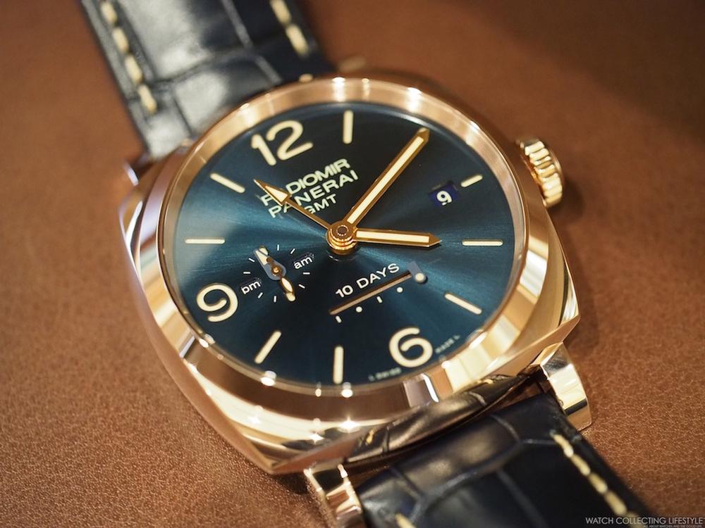Insider: Panerai Radiomir 1940 10 Days GMT Automatic 'Oro ...