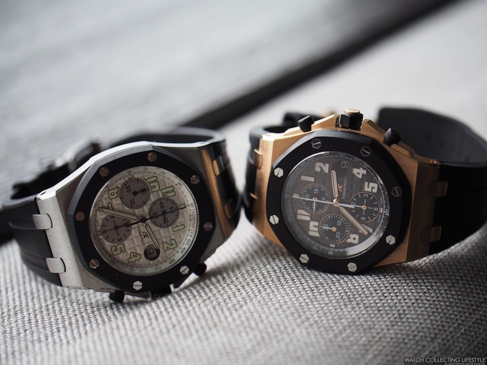 insider audemars piguet royal oak offshore rubberclad ref 25940
