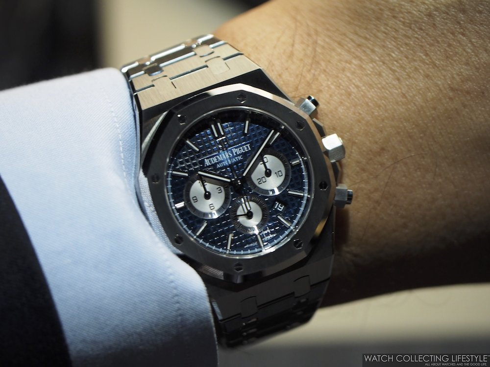 SIHH 2017: New Audemars Piguet Royal Oak Chronographs ref ...