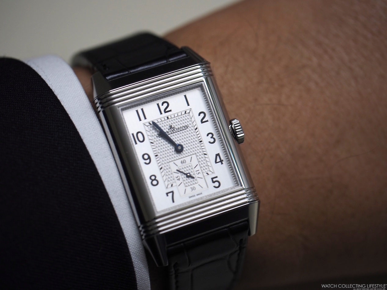 30587ba2bfe Insider  Jaeger-LeCoultre Reverso Classic Large Duoface Small Second ...
