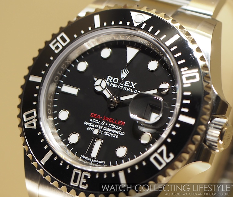 Baselworld 2017 New Rolex Sea Dweller 50th Anniversary With Red