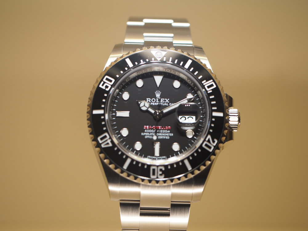 baselworld 2017 new rolex sea dweller 50th anniversary with red writing live pictures. Black Bedroom Furniture Sets. Home Design Ideas