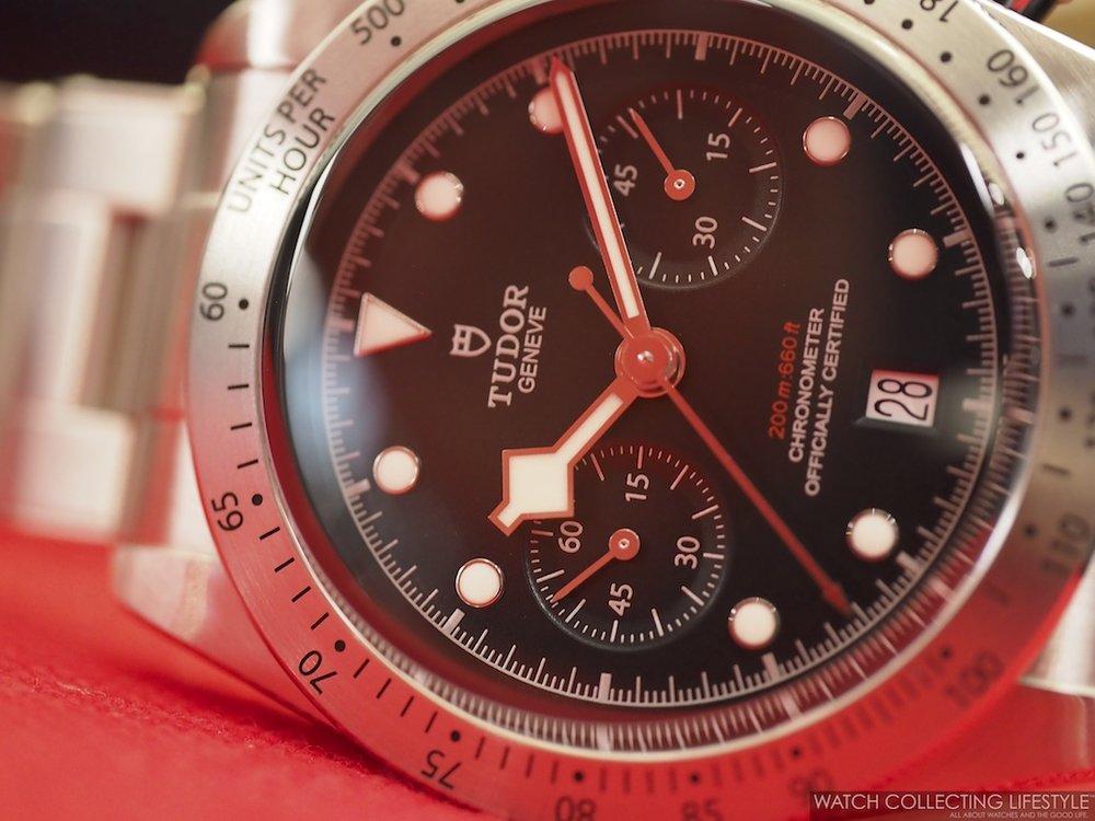 98632f55c60 Baselworld 2017  Tudor Black Bay Chronograph ref. 79350. Live Pictures   amp  Price