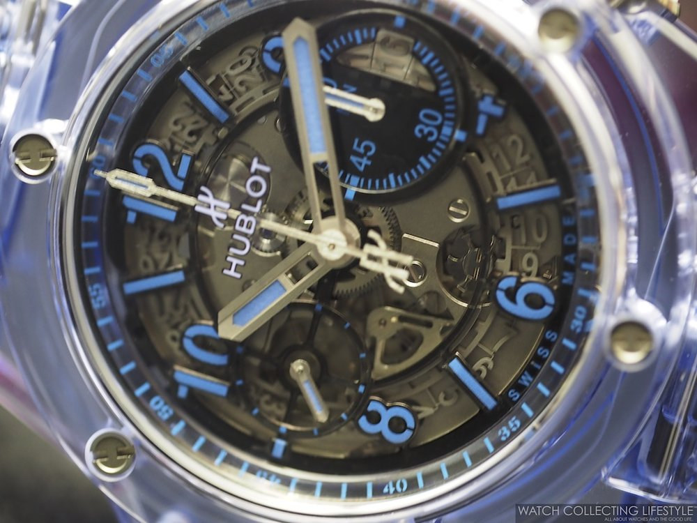 Baselworld 2017: Hublot Big Bang Unico Blue Sapphire, Big ...