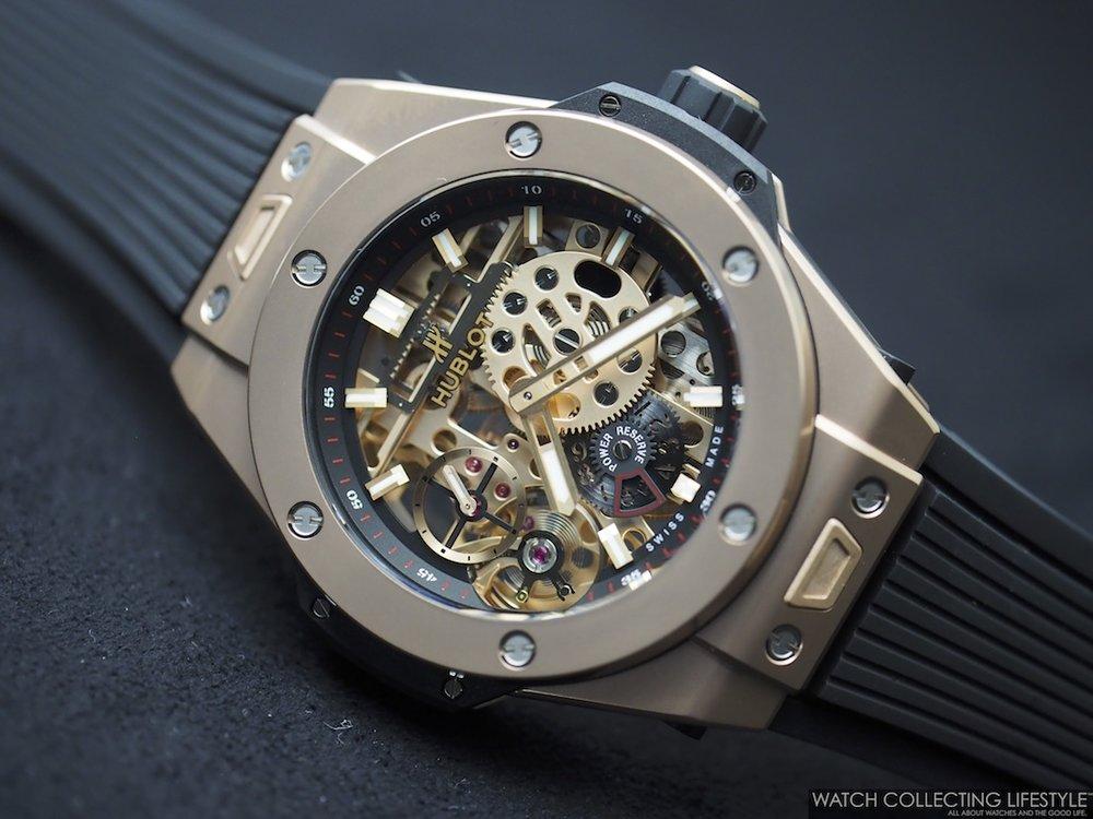 Hublot Big Bang MECA-10 18K King Gold. Hands-on with the ...