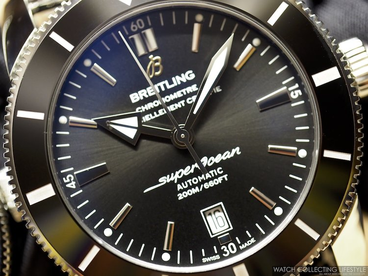 superocean ii en breitling watches