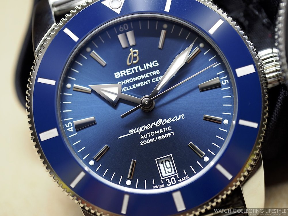 watch aeromarine divers new superocean breitling image wave watches