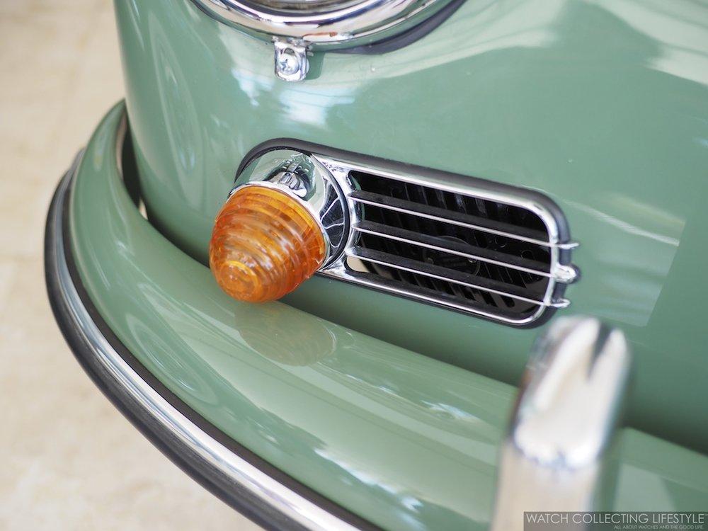 Porsche 356 1958 Auratium Green