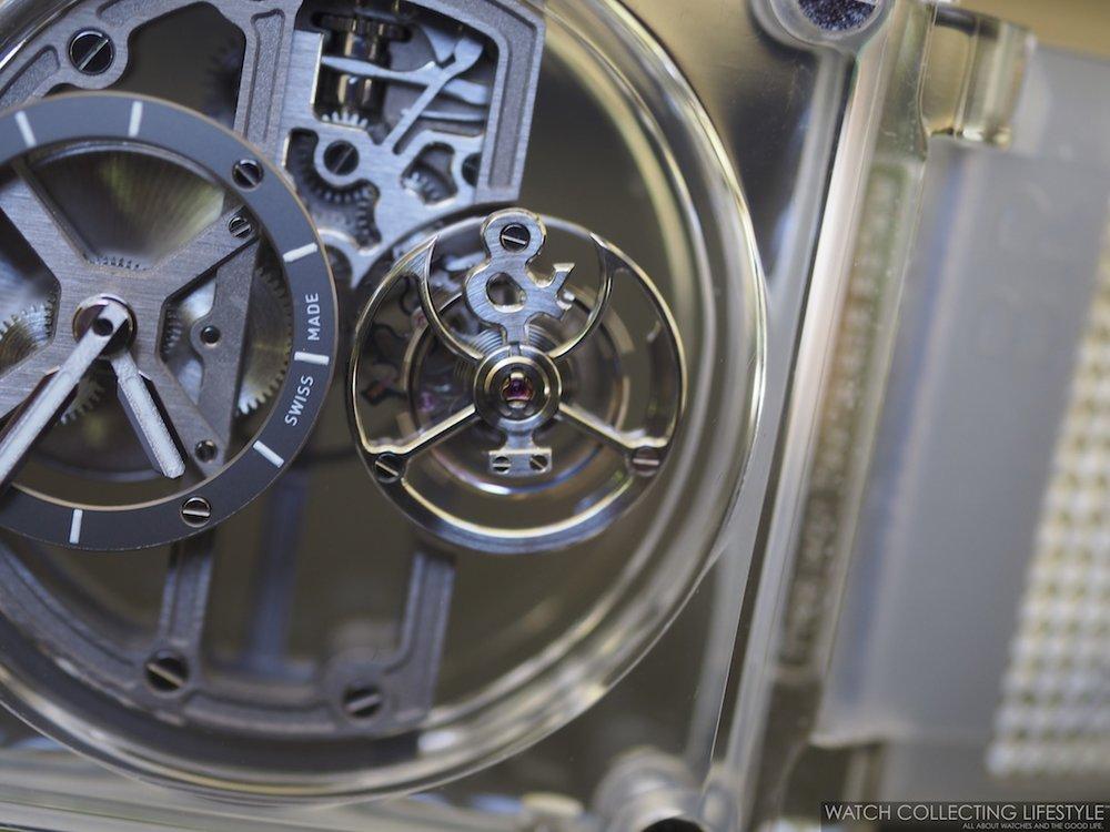 Bell & Ross BR-X1 Sapphire Tourbillon Macro