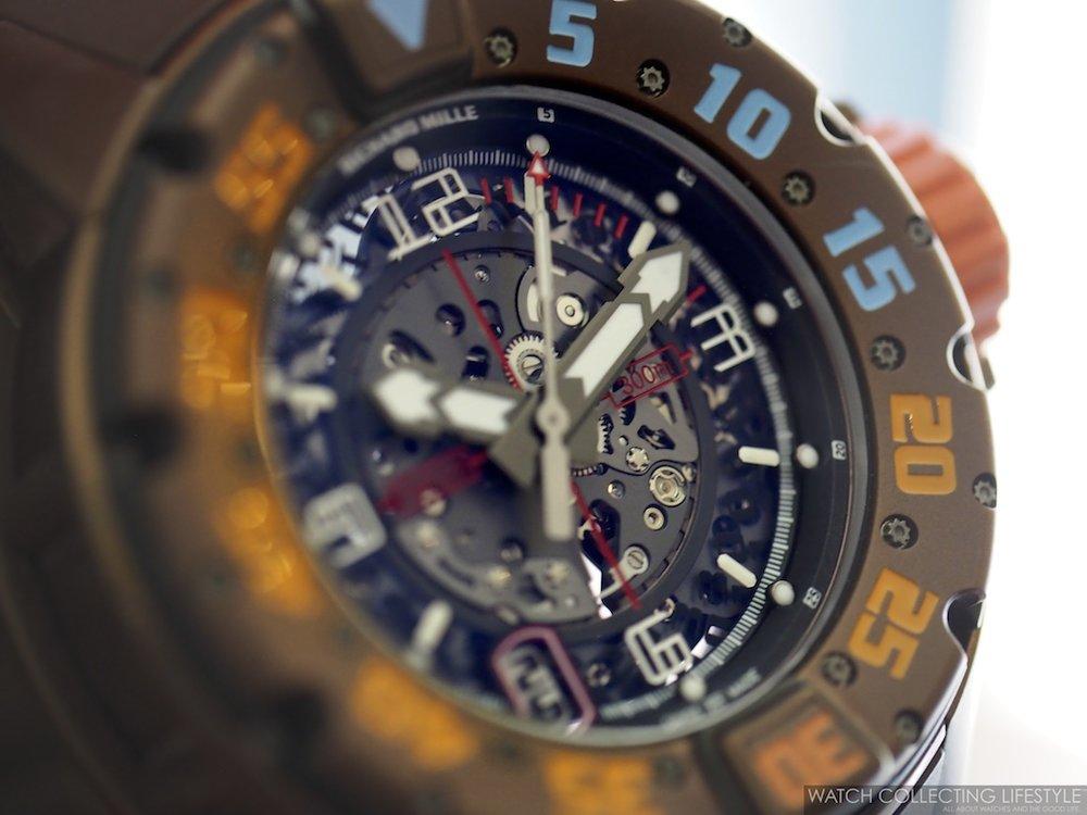 Richard Mille RM028 Brown PVD Titanium