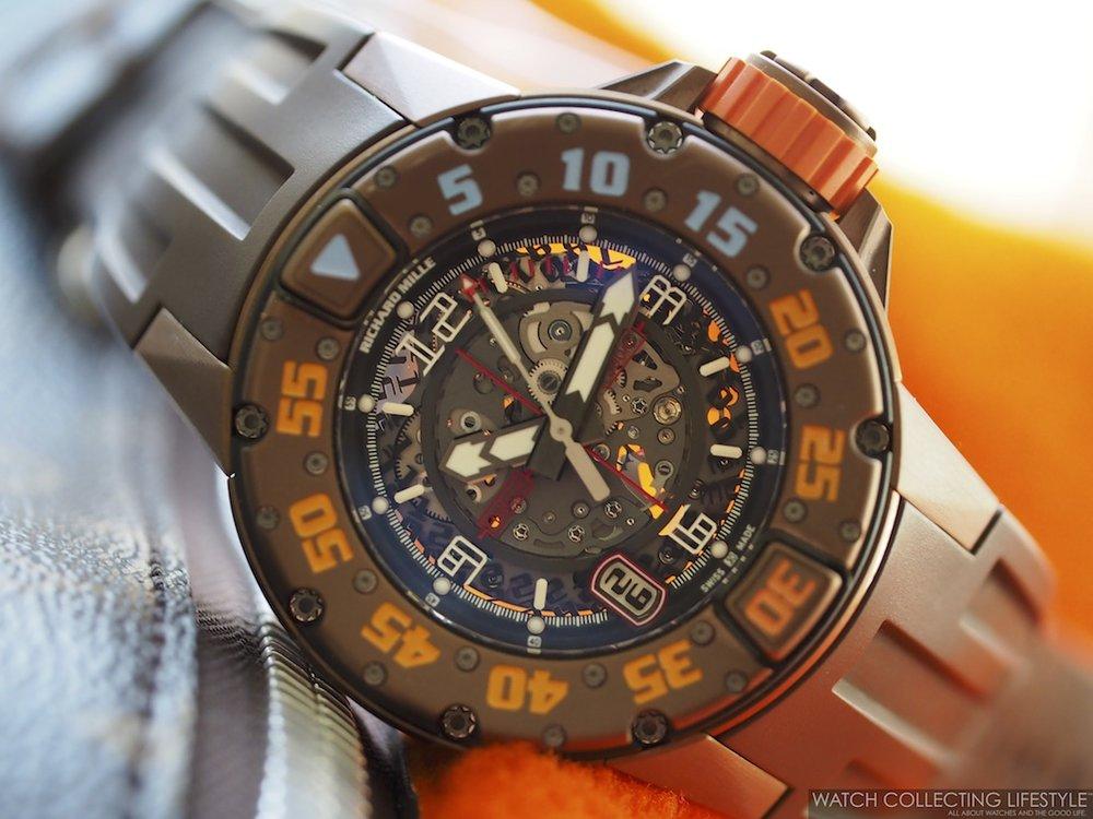 Richard Mille RM028 Brown PVD Titanium WCL